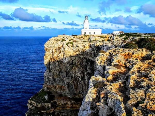 Faro de Cavalleria, en Menorca