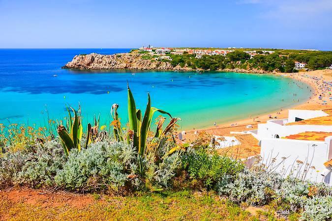 S'Arenal d'en Castell, en Es Mercadal, Menorca