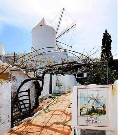 Es Molí d'es Racó, en Es Mercadal, Menorca