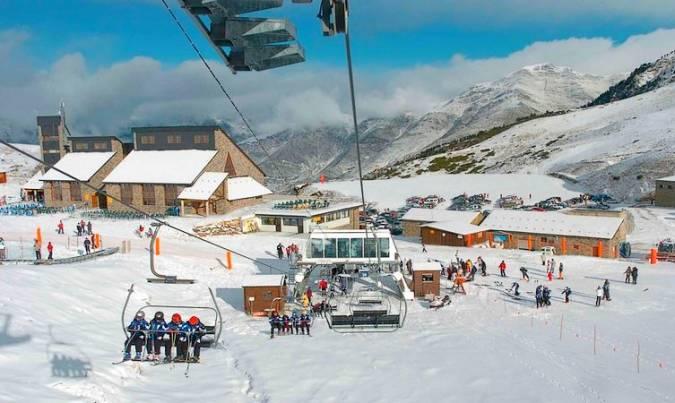 Estación de Esquí Boí Taüll, en Lleida
