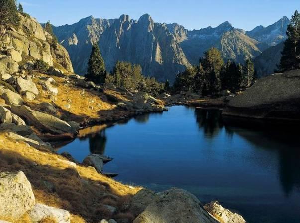 Parque Nacional de Aigüestortes y Estany de Sant Maurici, en Lleida