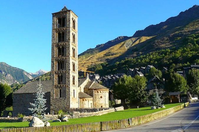 Iglesia de Sant Climent de Taüll, en Lleida