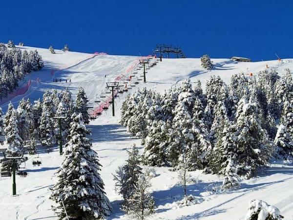Estación de Esquí de La Molina, en Girona