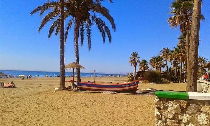 Playa de la Rada, en Estepona