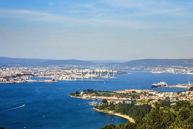 La villa marinera de Ferrol, en Galicia
