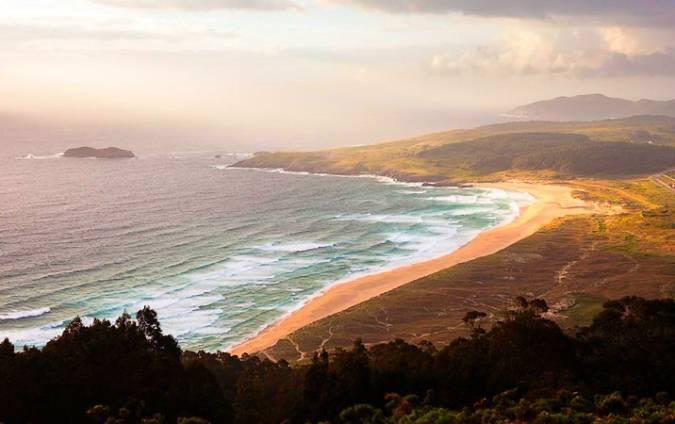 Playa de Doniños, en Ferrol, Galicia