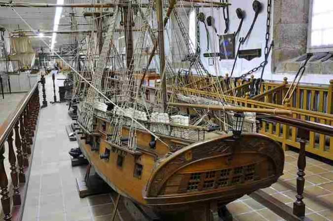 Museo Naval de Ferrol, en Galicia