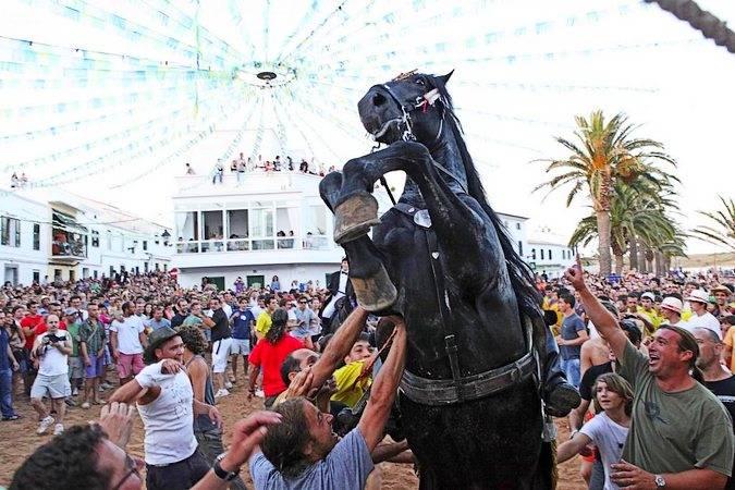 El Jaleo de las fiestas de Fornells, en Menorca
