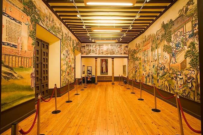 Salón Chino del Palacio de la Cotilla, en Guadalajara