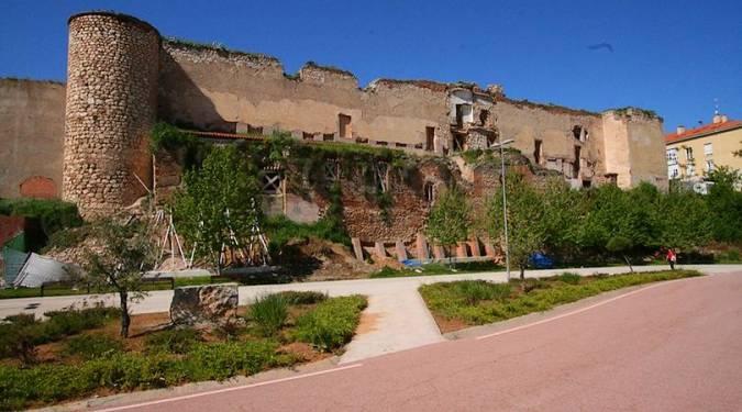 Ruinas del Alcázar Real de Guadalajara