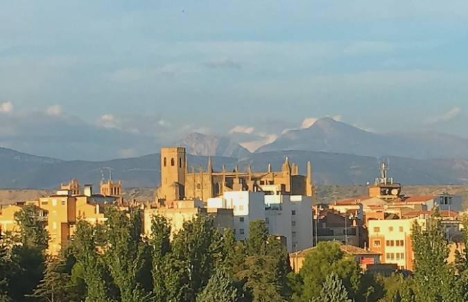Panorámica de la ciudad de Huesca