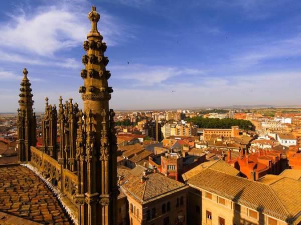 La ciudad de Huesca, en Aragón