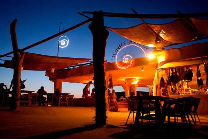 Sunset Ashram, en Ibiza