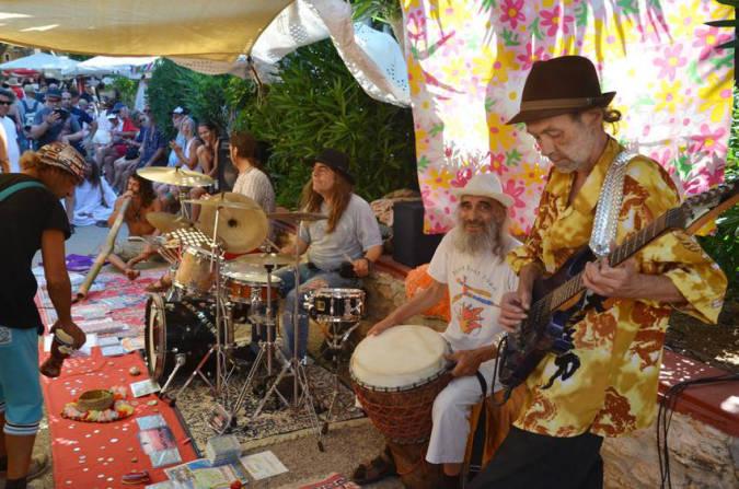 Mercadillo hippie de Es Canar, en Ibiza