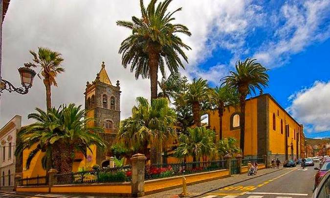 Casco histórico de La Laguna, en Tenerife