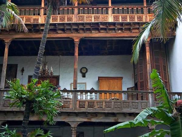 Casa de los Balcones, en La Orotava, Tenerife