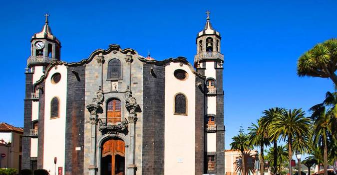 Iglesia de la Concepción, en La Orotava, Tenerife