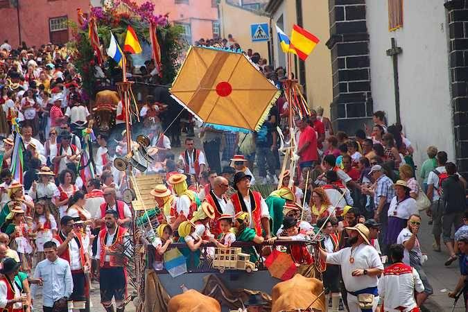 Fiestas Patronales de la Villa de La Orotava, en Tenerife
