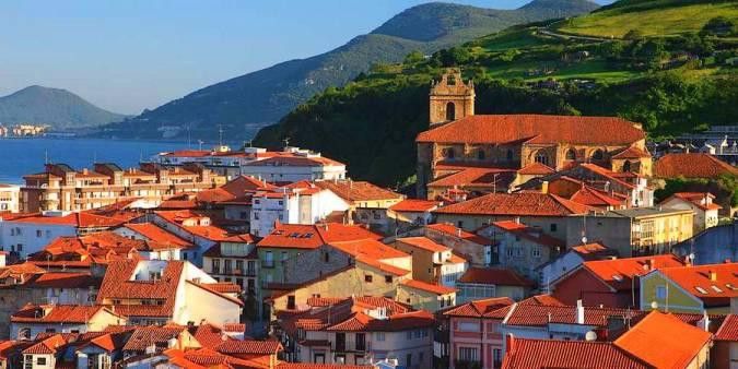 La Puebla Vieja, el casco antiguo de Laredo, en Cantabria