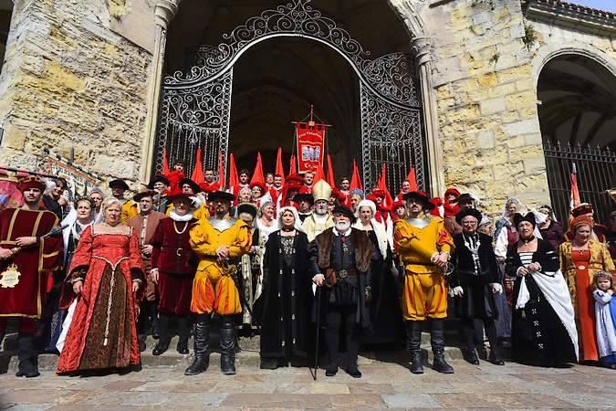 Fiesta del Desembarco de Carlos V en Laredo