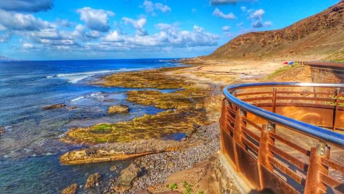 Playa El Confital, en Las Palmas de Gran Canaria