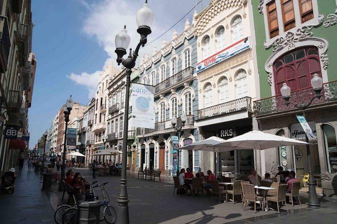 Barrio de Triana, en Las Palmas de Gran Canaria