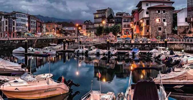 Puerto de Llanes, en Asturias