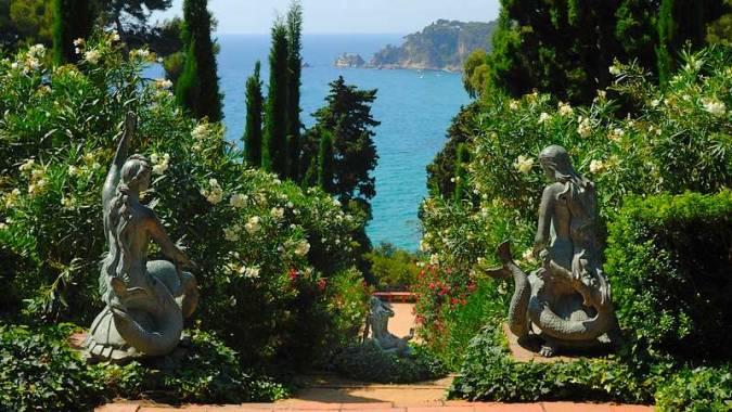 Jardines de Santa Clotilde, en Lloret de Mar, Girona