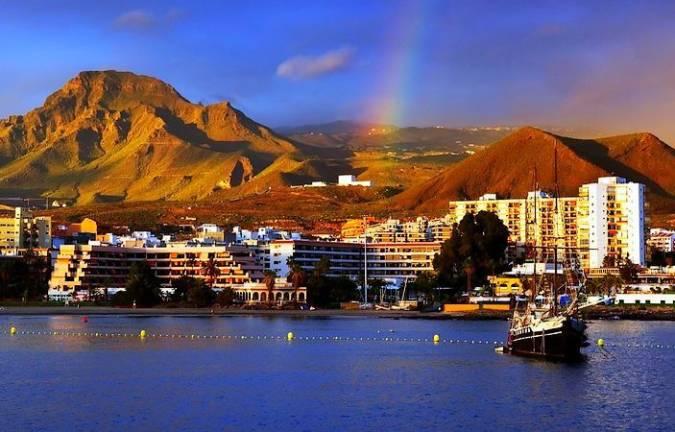 Los Cristianos, en Tenerife