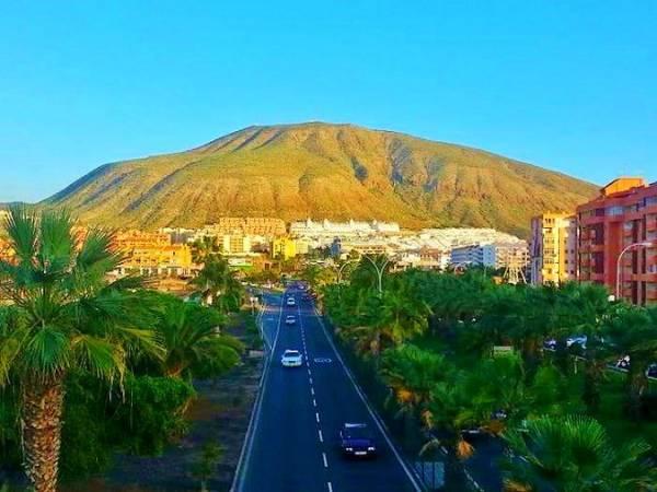 Montaña de Guaza, en Tenerife