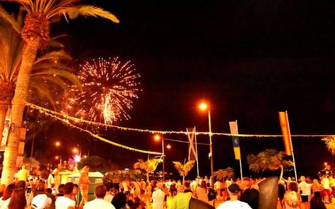 Fiestas en honor de la Virgen del Carmen en Los Cristianos