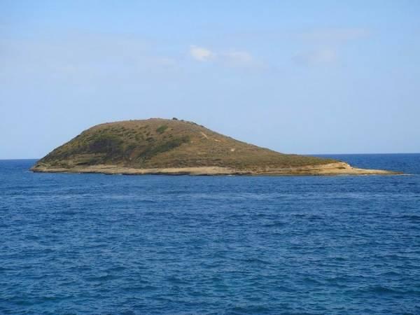 La Illa de Sa Porrassa, en Magaluf, Mallorca