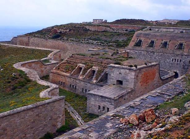 Fortaleza de La Mola, en Mahón, Menorca