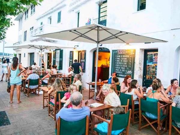 Restaurantes en el Puerto de Mahón, en Menorca