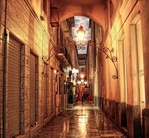 Pasaje de Chinitas, en Málaga