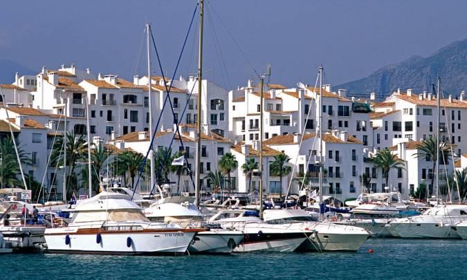 Puerto Banús, en Marbella