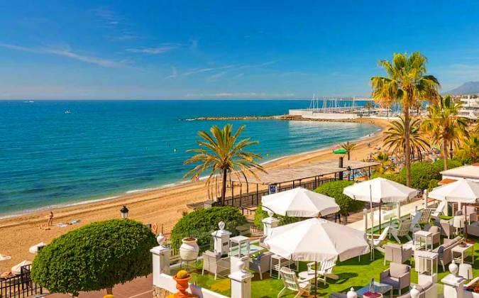 La ciudad de Marbella, en Málaga