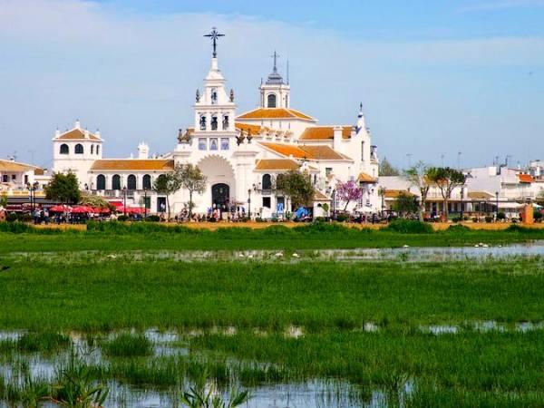 Aldea del Rocío, en Almonte, Huelva