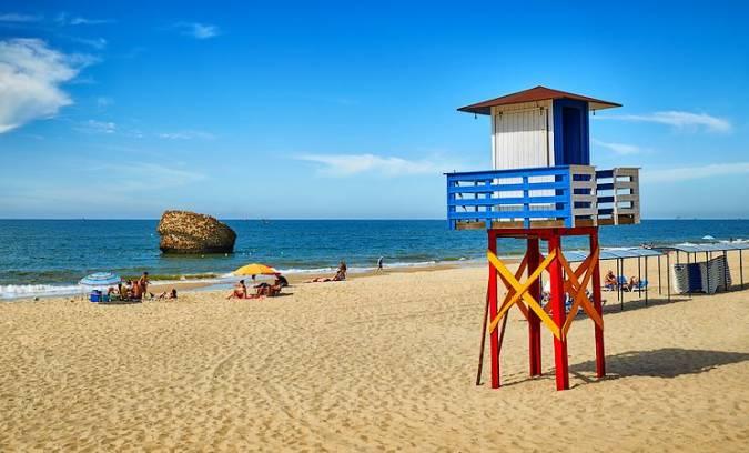Playa de Matalascañas, en Huelva