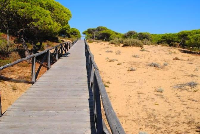 Parque Dunar, en Matalascañas, Huelva