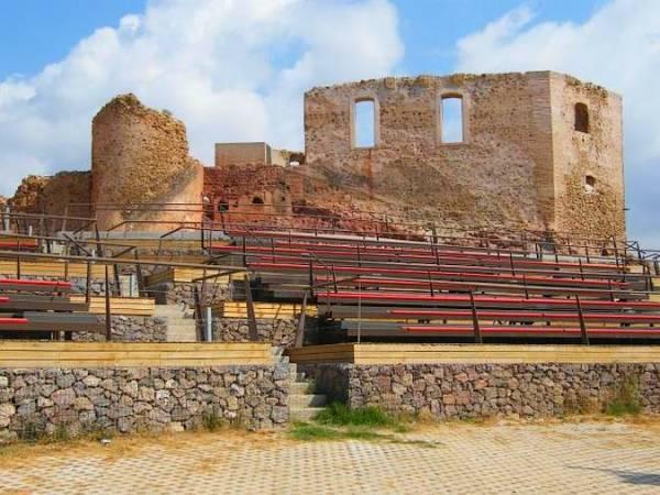 Castillo de los Vélez, en Mazarrón