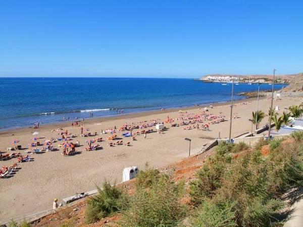 Playa de Meloneras, en Gran Canarias