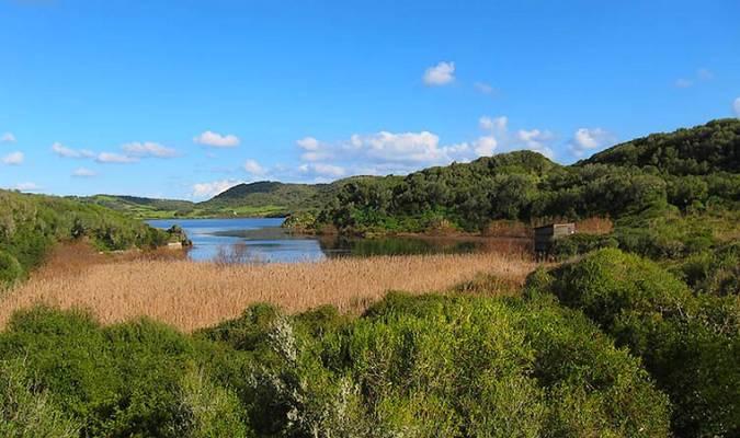 Parque Natural de S'Albufera des Grau, en Menorca