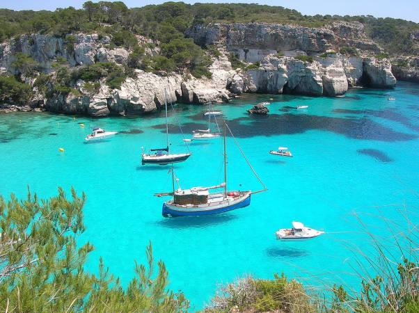 Cala Macarella, en Menorca