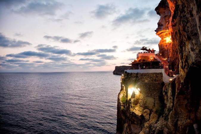 Cova d'en Xoroi, en Menorca