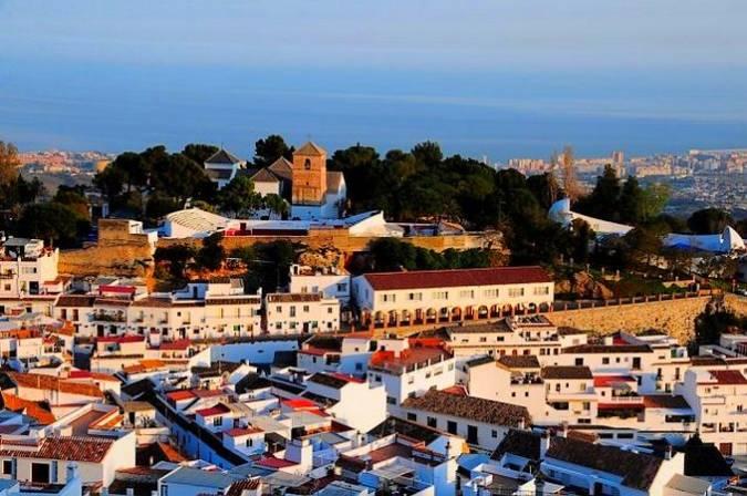 Casco histórico de Mijas, en Málaga
