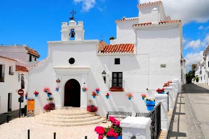 Ermita de los Remedios, en Mijas Pueblo