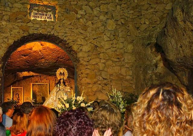 Fiestas Patronales en honor de la Virgen de la Peña, en Mijas