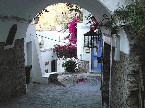 Calle de Mojácar Pueblo, en Almería