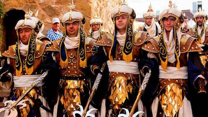 Fiesta de Moros y Cristianos de Mojácar, en Almería